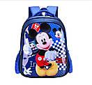 Стильный детский школьный рюкзак для девочек Mickey Mouse начальных 1 2 3 4 классов, фото 2