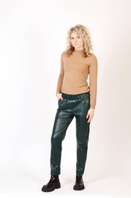 Утепленные женские штаны с эко кожи оптом PHI-PHI Star 12Є, лот 12шт  (26203) 19