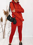 Спортивний костюм жіночий чорний, хакі, бордо, графіт, фото 2