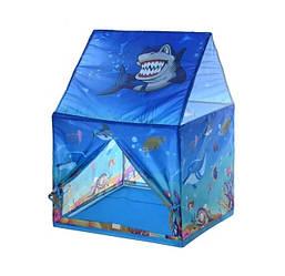 Детская игровая палатка домик Подводный мир