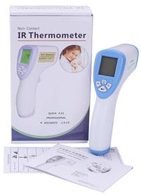 Електронний безконтактний інфрачервоний термометр Non Contact DT-880 Білий з синім КОД: hub_rHqn44750