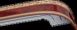 Лента декоративная на карниз, бленда Ажур 3 Махагон 70 мм на усиленный потолочный карниз КСМ, фото 2