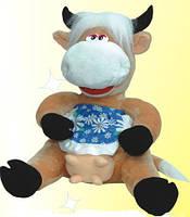 """Мягкая игрушка корова """"Буренка"""" 55 см"""