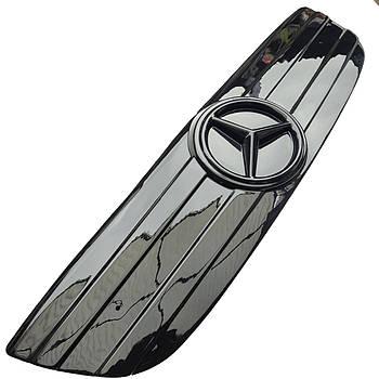 """Зимова накладка на Mercedes Sprinter (906) NEW 2006-2013 Решітка """"FLY"""" Глянець"""