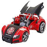 Автомодель-трансформер на р/у Maisto Street Troopers Project 66 Черно-красный, фото 3