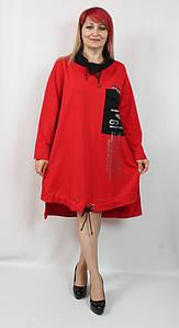 Турецкое женское платье А-силуэта больших размеров 54-64