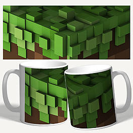 "Чашка/Горнятко з принтом майнкрафт ""Minecraft"""