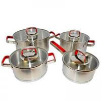 Набор посуды Moderne Rot 8 предметов Krauff 26-188-101
