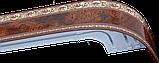 Лента декоративная на карниз, бленда Ажур 3 Карельская береза 70 мм на усиленный потолочный карниз КСМ, фото 2