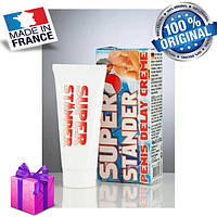 Крем стимулює SUPER STANDER, 40 ml, Оригінал Франція + Подарунок !!!