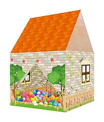 Детская игровая палатка домик Дачный домик