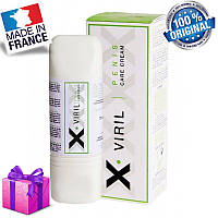 Крем стимулює X-VIRIL penis care cream, 75 ml, Оригінал Франція + Подарунок !!!