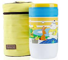 Дитячий Термос харчовий Pinkah TMY-3335 500 мл, жовтий