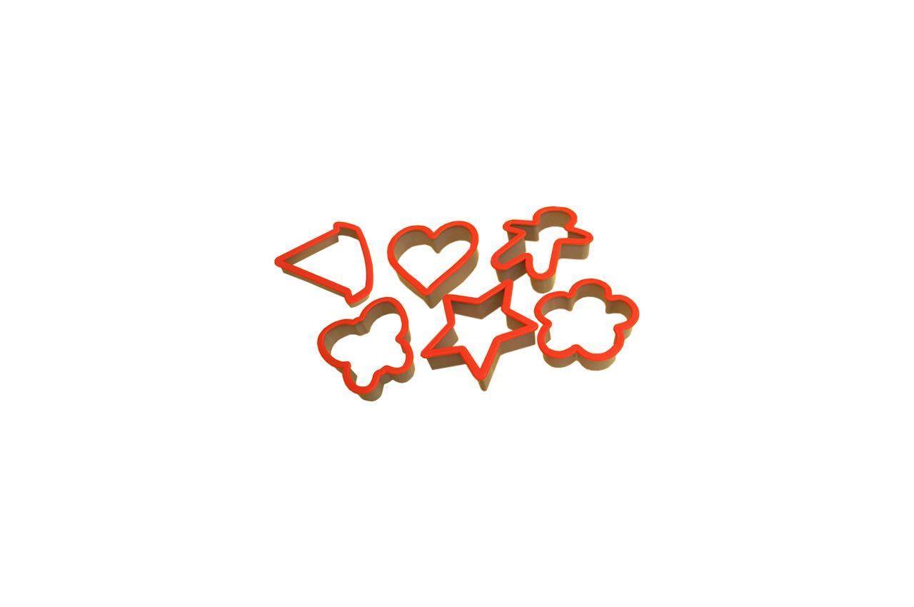 Набор форм для печенья Maestro - 6 ед. MR-1169 (MR-1169)