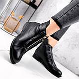 Ботинки женские Harry кожаные ЗИМА 2454, фото 4