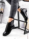 Ботинки женские Harry кожаные ЗИМА 2454, фото 6