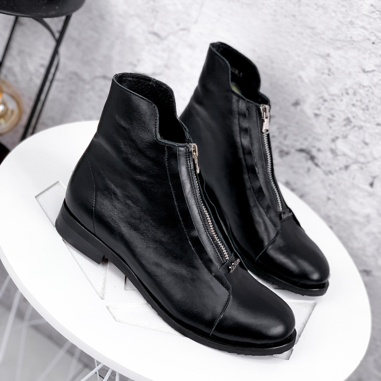 Ботинки женские Harry кожаные ЗИМА 2454
