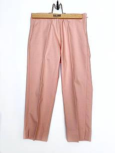 Легкие брюки со стрелкой для девочки, размеры 6, 7, 8, 9, 10, 11 лет