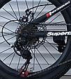 Детский спортивный горный велосипед 20 дюймов TopRider MTB-1 красный, фото 5