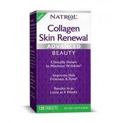 Коллаген Natrol Collagen Skin Renewal - 120 таб