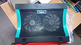 "Подставка-кулер для ноутбука HAVIT HV-F2051 (14-17""), USB, black, подсветка, фото 2"