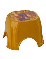 """Табурет детский пластиковый (стул) нескользящий """"Senyayla"""" 4528. Детские стульчики и табуретки."""