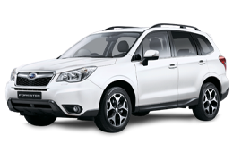 Коврики в салон для Subaru (Субару) Forester 4 2012-2018
