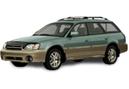 Коврики в салон для Subaru (Субару) Outback 2 (BH) 1999-2003