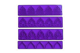 Набор выемок для оборок и декора края Empire -140 x 35 мм (4 шт.) (8111)