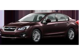 Коврики в салон для Subaru (Субару) Impreza 4 2011-2015