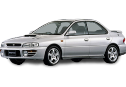 Коврики в салон для Subaru (Субару) Impreza 1 1992-2000