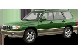 Коврики в салон для Subaru (Субару) Forester 1 1997-2002