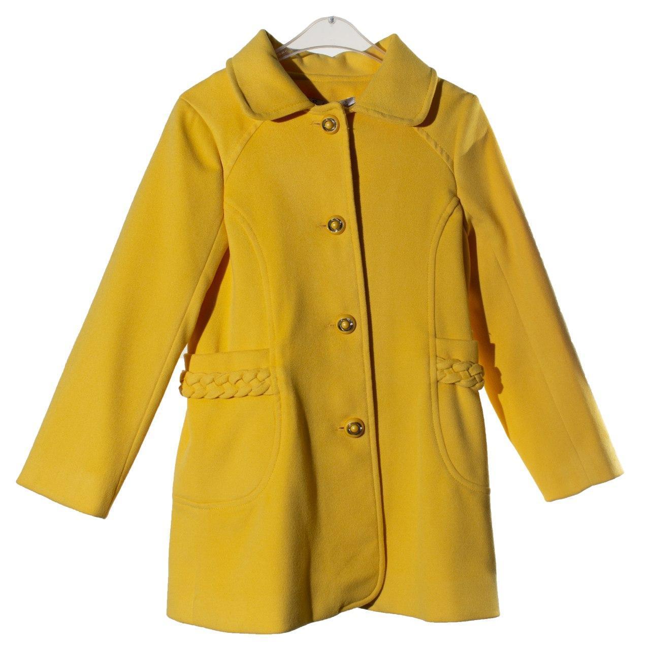 Демисезонное пальто для девочки, осень/весна, размеры 3, 4 года, 5 лет