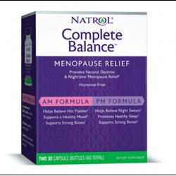 Менопауза повний комплекс Natrol Complete Balance AM/PM -30+30 капс