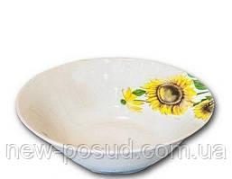 Салатник Подсолнухи 12,5 см Оселя 21-206-036