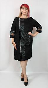 Турецкое женское платье свободного кроя, размеры 48-54