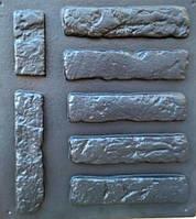 Форма для изготовления декоративного камня №26