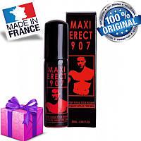 Возбуждающий спрей MAXI ERECT 907, 25 ml, Оригинал Франция + Подарок !!!