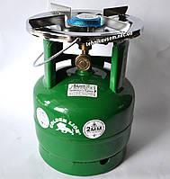 Газовый баллон Пикник Ruddy RK-2 (5 литров) с ветровиком