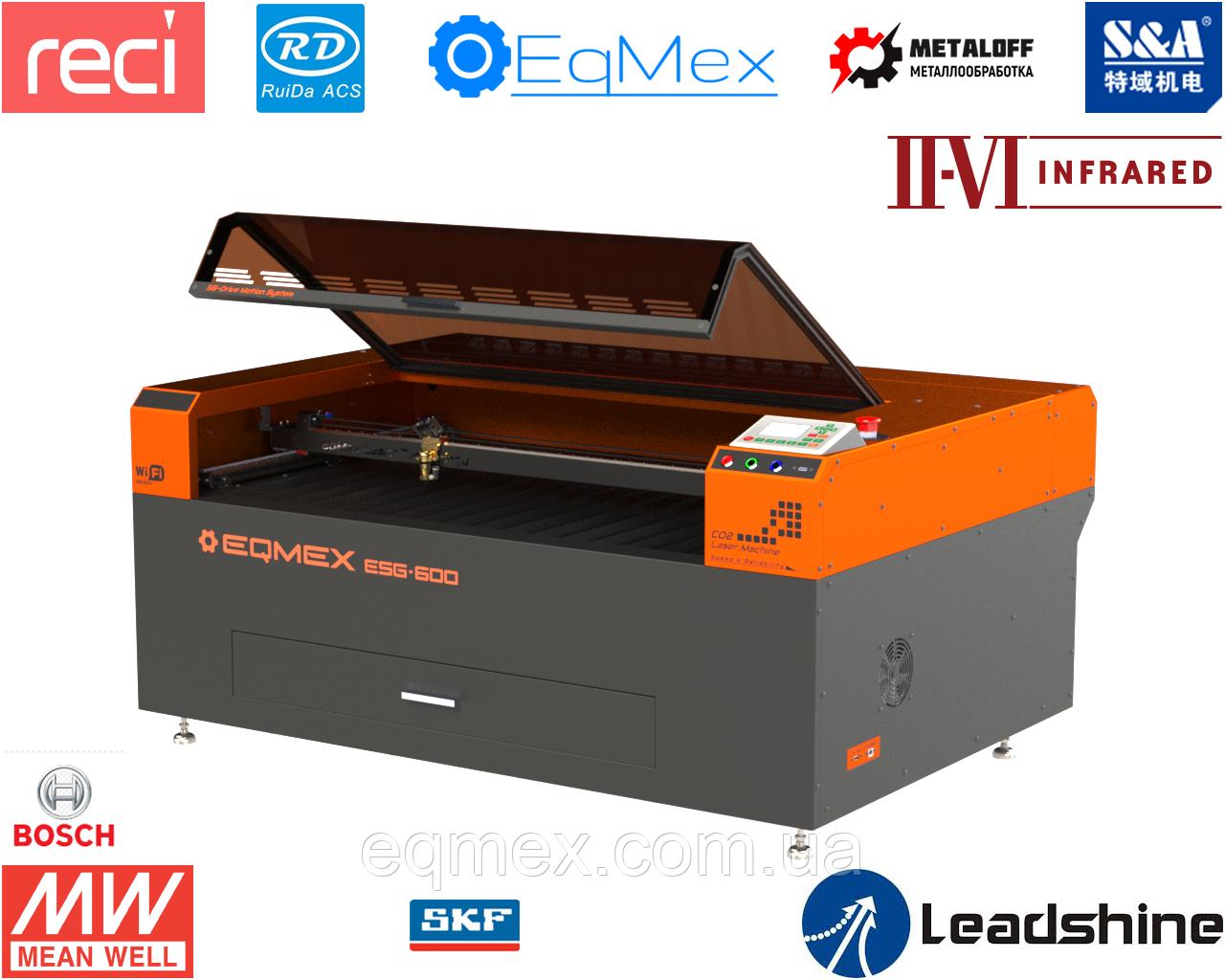 Лазерний верстат для Різання і Гравіювання Laser ESG-600 CO2 - 75Вт (5495$)