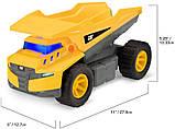 Самосвал грузовик строительная техника свет, звук Catepillar Cat Future Force Truck, фото 5