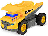 Самосвал грузовик строительная техника свет, звук Catepillar Cat Future Force Truck, фото 4