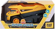 Самоскид вантажівка будівельна техніка світло, звук Catepillar Cat Future Force Truck