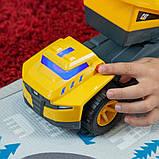 Самосвал грузовик строительная техника свет, звук Catepillar Cat Future Force Truck, фото 6