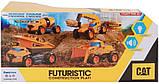 Самосвал грузовик строительная техника свет, звук Catepillar Cat Future Force Truck, фото 7