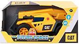 Строительная техника погрузчик свет звук Cat Catepillar Future Force Telehandler Toy, фото 5