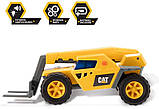 Строительная техника погрузчик свет звук Cat Catepillar Future Force Telehandler Toy, фото 4