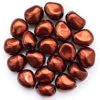Жемчуг неправильной формы Preciosa (Чехия) 11х9.5 мм Dark Copper
