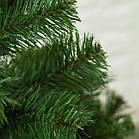 """Елка зеленая искусственная 2.2 м пленка ПВХ с подставкой, елка """"Лесная"""" зеленая классическая, фото 7"""