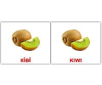 Картки Домана Фрукти/Fruit 40 карток, фото 2
